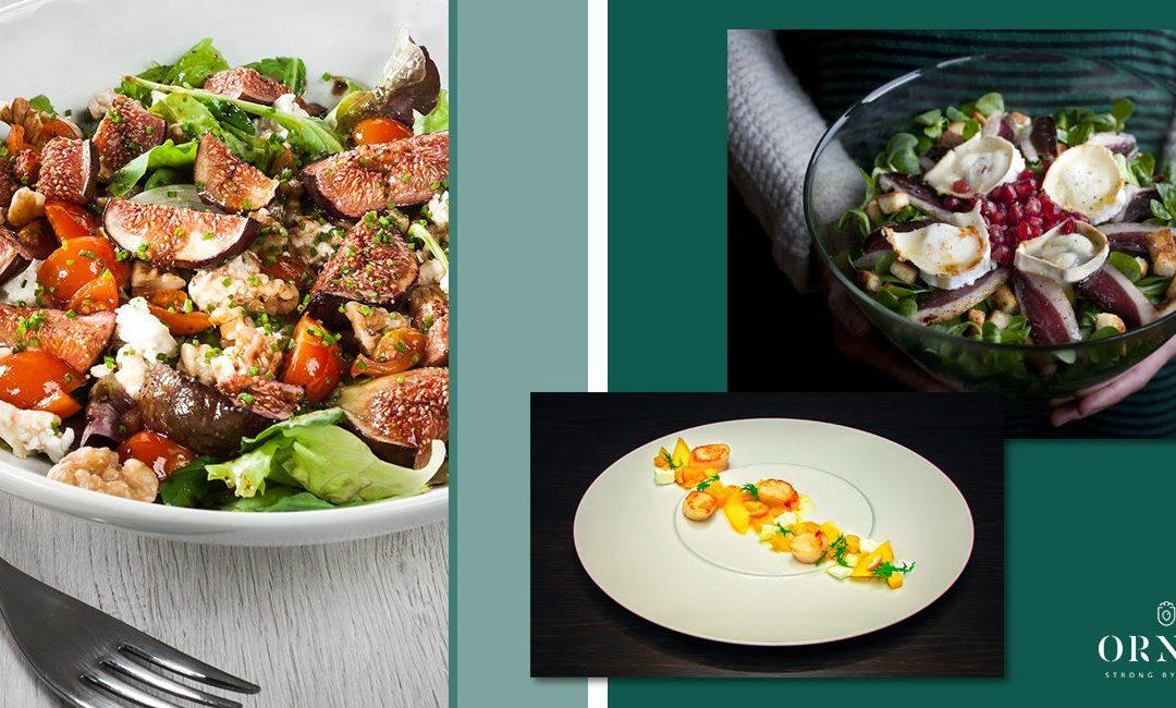 Tres ensaladas gourmet para disfrutar del verano