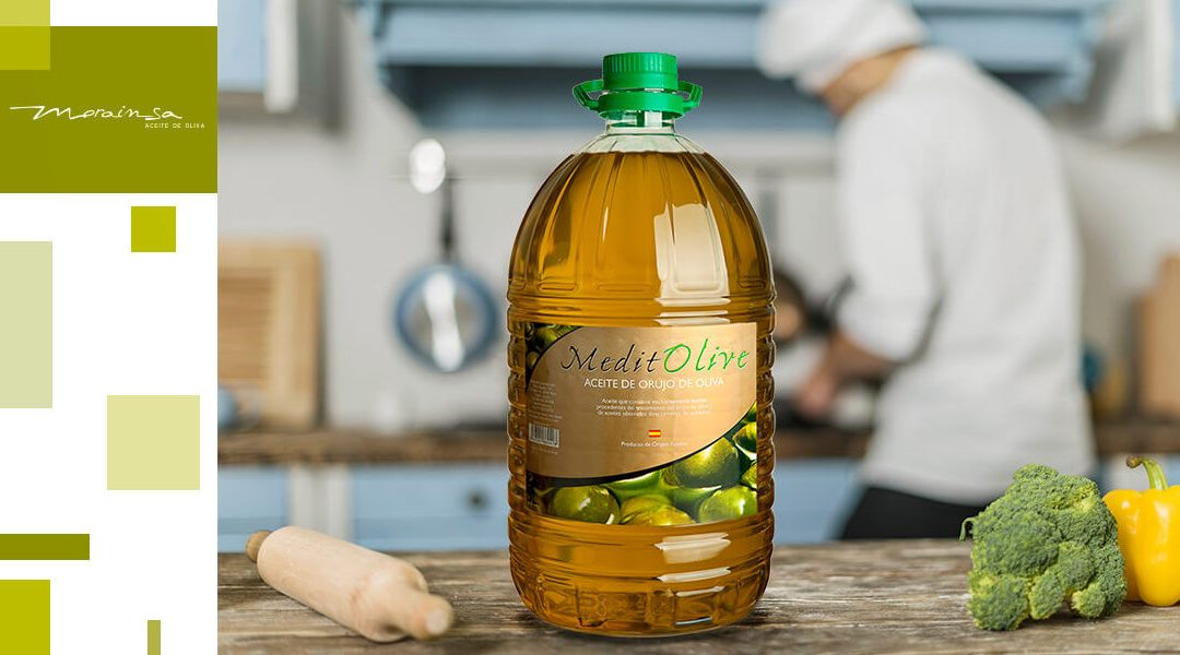 Aceite de orujo de oliva, la mejor solución para la hostelería