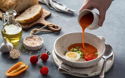 Cuatro recetas de salmorejo ideales perfectas para el verano